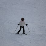 Meg skiing last year in Red River, New Mexico